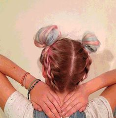 GIF it to me…Rose and Blulini braids by Tori <3