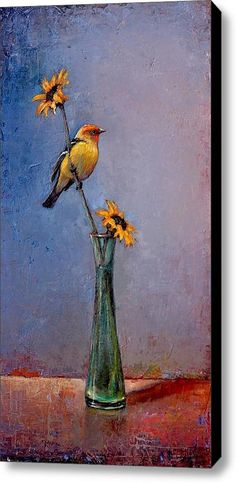 """""""Fleeting Summer"""" Stretched Canvas Print / Canvas Art By Lori  Mcnee"""