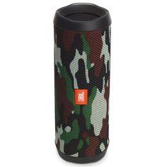 JBL Flip 4 Portable Waterproof Bluetooth Speaker (Camouflage)condition: NewBrand: JBLCompatible Model: UniversalColor: MulticolorFeatures: Bluetooth,W Wireless Stereo Speakers, Waterproof Bluetooth Speaker, Portable Speakers, Room Speakers, Big Speakers, Camouflage, Squad, Jbl Flip 4, Usb