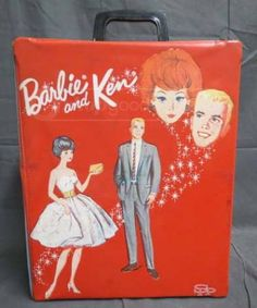 1963 Ken and Barbie Doll Case