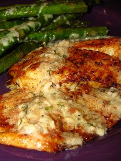 Spiced Tilapia & Lemon Butter Sauce