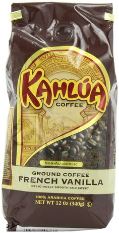 White Coffee Kahlua French Vanilla Gourmet Ground Coffee ** You can find more details by visiting the image link.