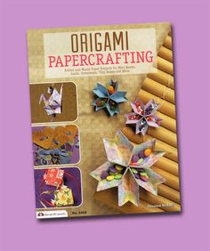 Origami Papercrafting. Origami-inspired makes. Fun makes to give. Book review. http://thepapercraftpost.blogspot.co.uk/2014/11/notes-on-history-of-origami-origami.html