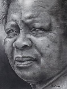 """A Portrait Drawing of """"Indomitable Will"""" by Vanessa Turner, featured at ArtistsNetwork.com. #drawing #art"""
