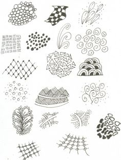 Great doodle ideas for when youre bored in class...
