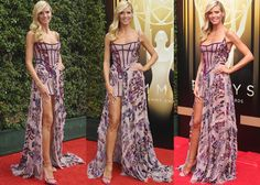 "Heidi Klum Attends the Creative Arts Emmys in Stuart Weitzman, Debuts a ""Project Runway"" Contestant's Work in Her Lingerie Line"
