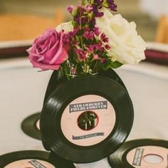 Music party theme centerpieces wedding ideas 21 ideas for 2019 Music Centerpieces, Wedding Centerpieces, Wedding Table, Rustic Wedding, Beatles Party, The Beatles, Music Party, Wedding Music, Glamorous Wedding