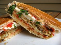 A Taste of Home Cooking: Eggplant Panini