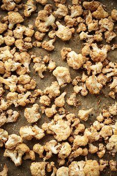 "Crispy Salt & Vinegar Cauliflower ""Popcorn"""
