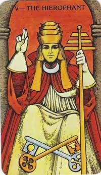 Hierophant tarot card meanings