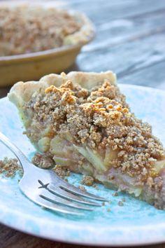 Dutch Apple Pie. Vegan, Gluten-free, Oil-free, Sugar-free!