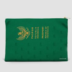 Indonesia - Passport Pouch Bag