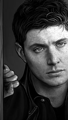 Dean by petite madame Supernatural Cartoon, Supernatural Drawings, Supernatural Fan Art, Winchester Brothers, Dean Winchester, Jensen Ackles, Avatar Picture, Boy Walking, Disney Couples