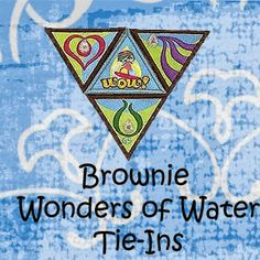 Brownie Wonders of Water journey tie-ins and activities. Examples of what our Girl Scout troop did. Scout Mom, Girl Scout Swap, Girl Scout Leader, Daisy Girl Scouts, Girl Scout Troop, Girl Scout Brownie Badges, Brownie Girl Scouts, Wow Journey, Brownies Activities