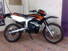 Modified Yamaha RX100 by Khalidaro Design