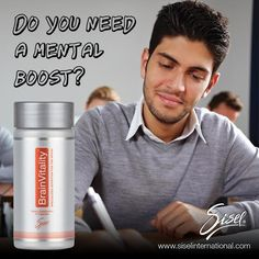 Give yourself the mental boost you need to accomplish any task with Brain Vitality!!! #Sisel https://www.siselinternational.com/en/US/productdetail.htm…