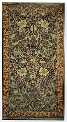 William Morris and J H Dearle 'Bullerswood' Carpet, 1889