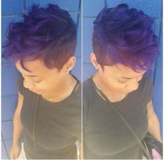 Vogue African American Hairstyles for Short Hair