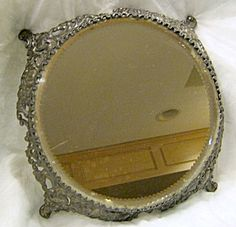 """Stunning17"""" SIGNED Pairpoint SILVERPLATE 17"""" PLATEAU from the Victorian Period - c 1880-1900"""