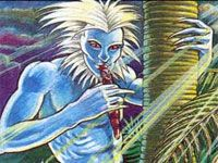 Patupaiarehe- Maori myth: pale beings that live deep in the forests and on mountaintops. they lived in big, guarded communities. ethereal flute music and singing reveals their presence.