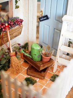 Miniature house*外観の画像:natural色の生活~handmade家具