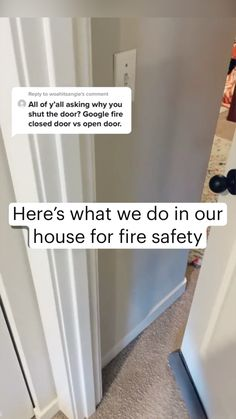 Home Safety, Family Safety, Safety Tips, Simple Life Hacks, Useful Life Hacks, Home Renovation, Home Organization Hacks, Organizing, Survival Life Hacks