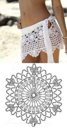 Fabulous Crochet a Little Black Crochet Dress Ideas. Georgeous Crochet a Little Black Crochet Dress Ideas. Débardeurs Au Crochet, Beach Crochet, Crochet Woman, Crochet Skirts, Crochet Clothes, Crochet Bikini Bottoms, Crochet Projects, Crochet Tutorials, Crochet Ideas