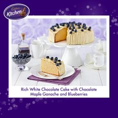 This one is for all the white chocolate lovers! Do you know someone this #cake would be perfect for? #chocolate #mudcake #baking To view the #Cadbury product featured in this recipe visit http://www.cadburykitchen.com.au/products/view/baking-block/