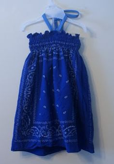 I think the girls would love this bandana dress for summer wear.