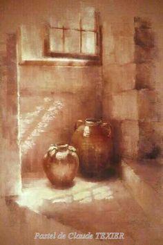 """""""Dans l'escalier"""" par Claude Texier"""