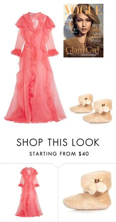 """Gown"" by tinaground ❤ liked on Polyvore featuring Gucci and River Island"