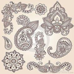 Henna Doodles Mehndi Tattoo
