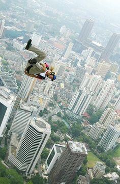 Base Jump - Image: Shamshahrin Shamsudin