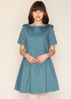 Dress Gillian Denim - PepaLoves