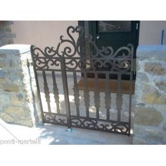 Wrought Iron Pedestrian Gate. Customize Realisations. 089 Pedestrian, Wrought Iron, Gate, Ebay, Furniture, Home Decor, Entryway, Decoration Home, Portal