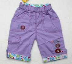 Resultado de imagem para pantalone de niñas Short Niña, Chor, Patterned Shorts, Trunks, Swimwear, Kids, Dresses, Fashion, Child Fashion
