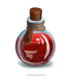 Level 3 Life Potion - Closed by ~adorabless on deviantART