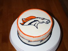 denver broncos cake - Google Search