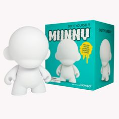 Material: Vinyl  Height: Approx. 7 Inches  Condition: New In Box  Great for: Painting & Sculpting  Customize MUNNY beyond all recognition with this DIY KR classic. You can draw and paint on MUNNY, use crayons, pencils, ketchup, or anything else you can think of. You can make clothes for MUNNY. M