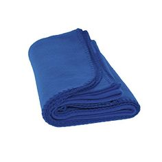 Pet Fleece Blanket  Dogs Cats and All Pets Soft Fleece Royal Blue -- Click on the image for additional details.