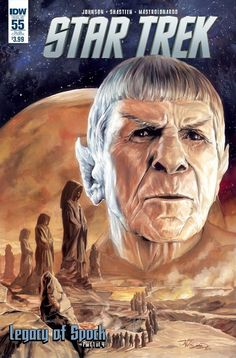 Star Trek Ongoing #55 Legacy of Spock part 1 subscription cover