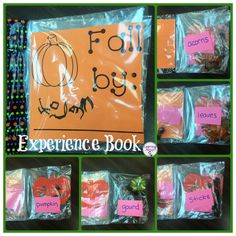 Learning Ahoy!!: Fall Experience Books