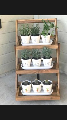 70 Best Small Herb Garden Outdoor Ideas on a Budget - Just Start from Home Diy Herb Garden, Indoor Garden, Indoor Plants, Outdoor Gardens, Vertical Herb Gardens, Herb Planters, Kitchen Herbs, Outdoor Living, Outdoor Decor