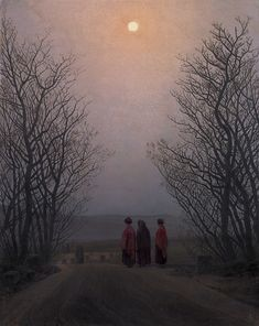 Easter Morning, 1835, Caspar David Friedrich