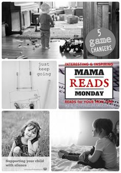The Mama Reads Monday Link Party - A Collection of quick & encouraging reads for busy and weary moms!