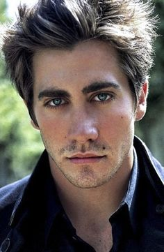Jake Gyllenhaal -- This pics a little young, but gosh he's so cute here.