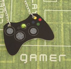 GIRL GAMER Black Xbox 360 Elite Video Games Controller Necklace XBOX360 on Etsy, $13.78
