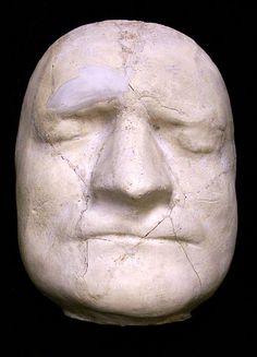 death mask, Sir Isaac Newton