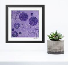 Acrylmalerei - Acrylbild auf Papier **Farbmix Serie 1** - ein Designerstück von SoMa-Art bei DaWanda