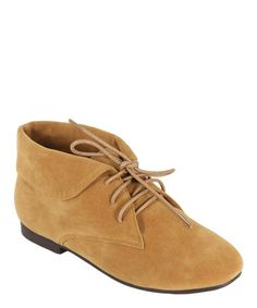 Take a look at this Camel Jojo Bootie by Anna Shoes on #zulily today!